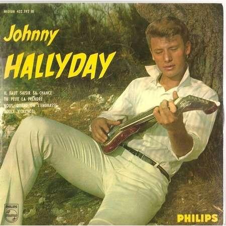 il faut saisir sa chance de johnny hallyday ep chez rockinronnie ref 115373935. Black Bedroom Furniture Sets. Home Design Ideas