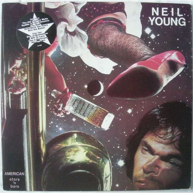 American stars 'n bars by Neil Young, LP with rocknrollbazar - Ref:114726669