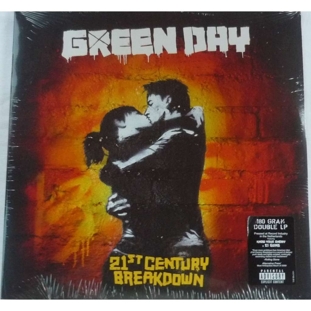 Close Green Day 21st Century Breakdown 180gr Lp X 2
