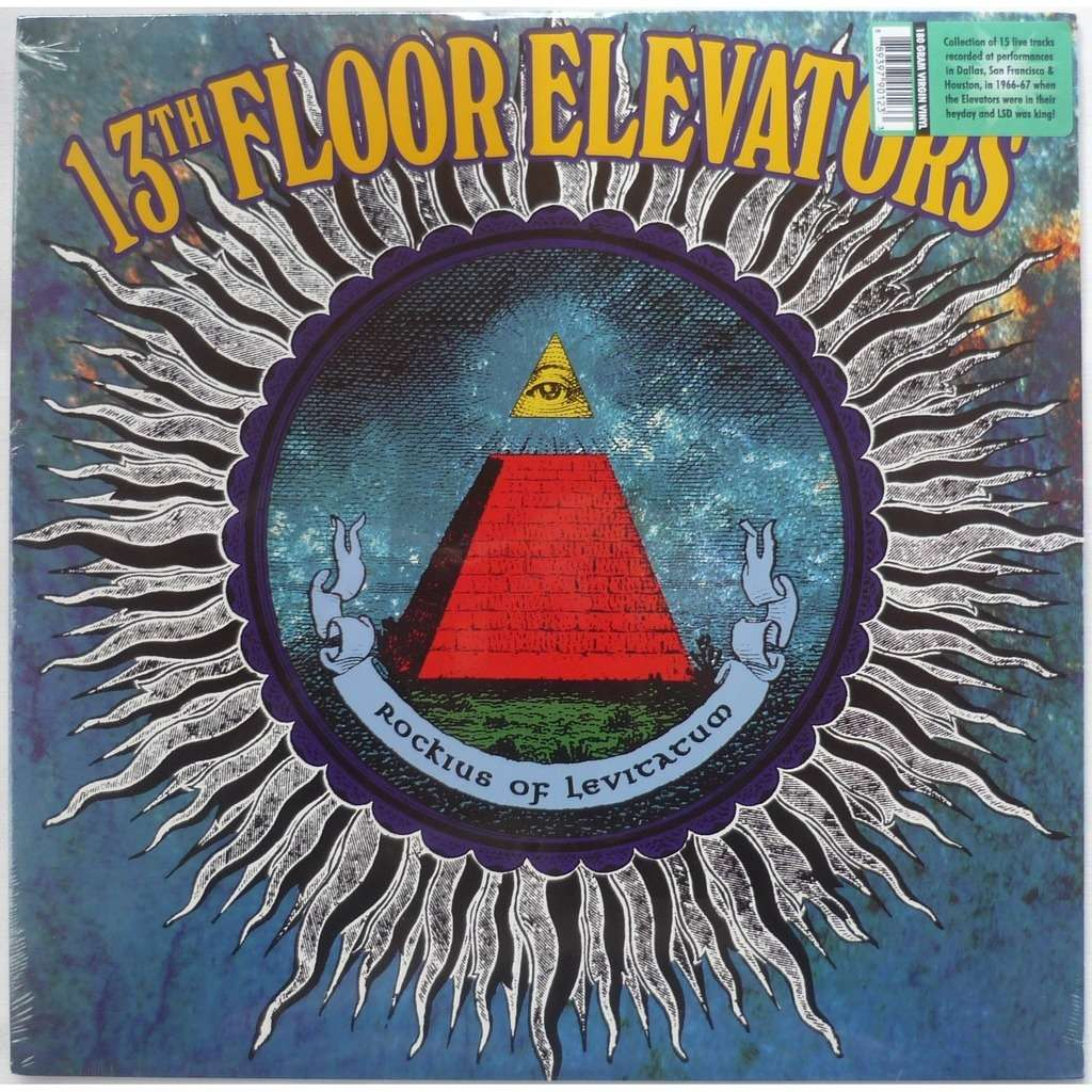 Rockius of levitatum 180gr by 13th floor elevators lp for 13 floor