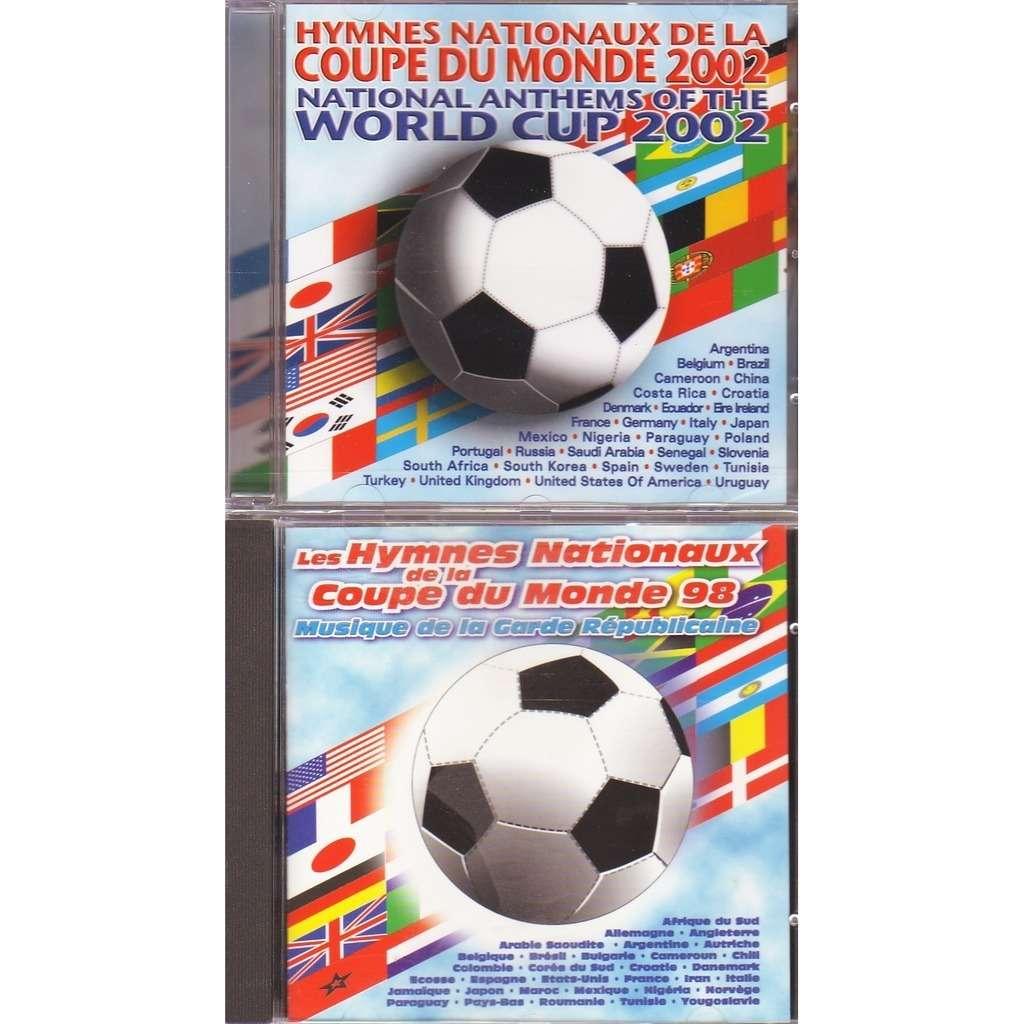 COUPE DU MONDE 1998/2002 LES HYMMES NATIONAUX MUSIQUE DE LA GARDE REPUBLICAINE