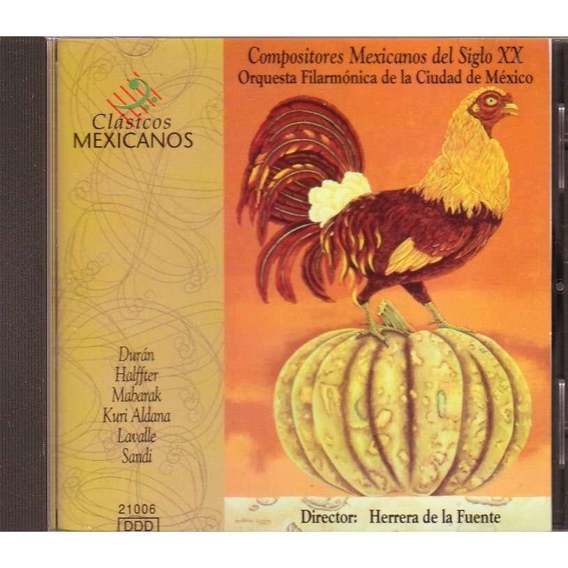ORQUESTA FILARMONICA DE LA CIUDAD EN MEXICO COMPOSITORES MEXICANOS DEL SIGLO XX