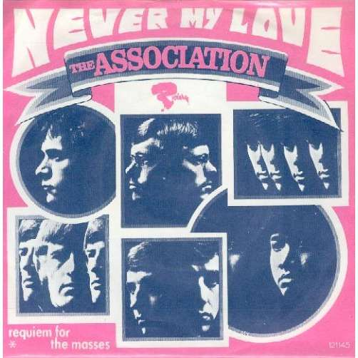 THE ASSOCIATION never my love/requiem for the masses