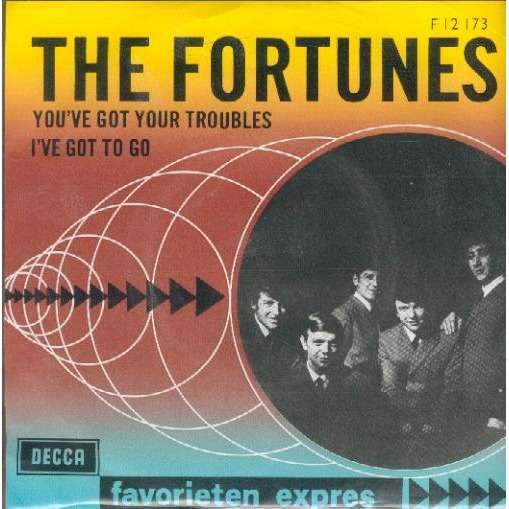 THE FORTUNES YOU'VE GOT YOUR TROUBLES / I'VE GOT TO GO