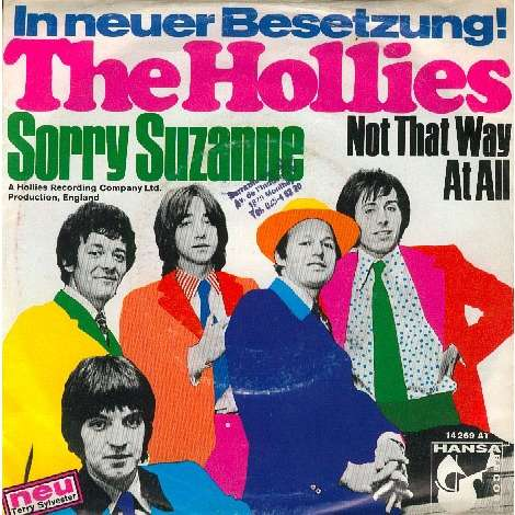 THE HOLLIES SORRY SUZANNE (