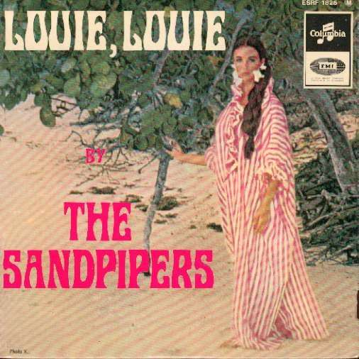 THE SANDPIPERS Louie louie / things we said today / la bamba / angelica