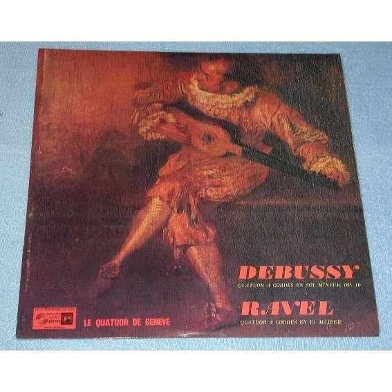 Le quatuor de Genève  Debussy Ravel Debussy Ravel