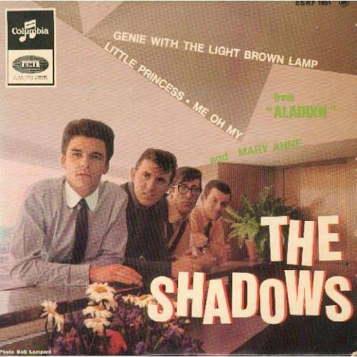 Genie With The Light Brown Lamp By The Shadows Ep With