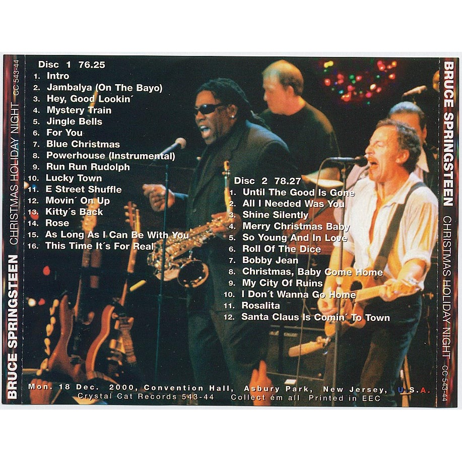 bruce springsteen christmas holiday night bruce springsteen christmas holiday night - Bruce Springsteen Christmas Album