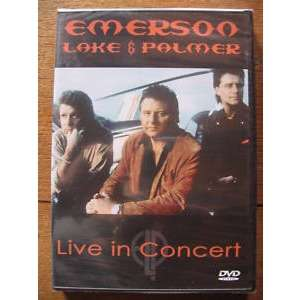 EMERSON, LAKE & PALMER Live in concert