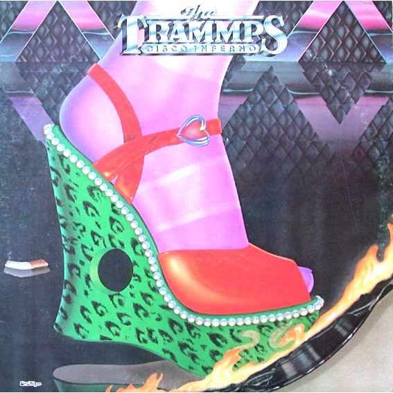 Disco Inferno By The Trammps Lp With Skeudagogo Ref