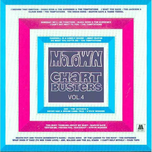 Various Artists Motown Chartbusters Volume 4 Cd For Sale