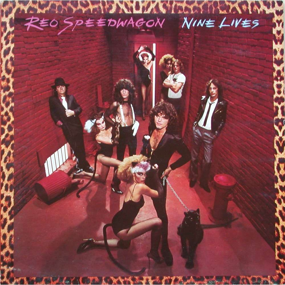 Nine Lives By Reo Speedwagon Lp Gatefold With Skeudagogo
