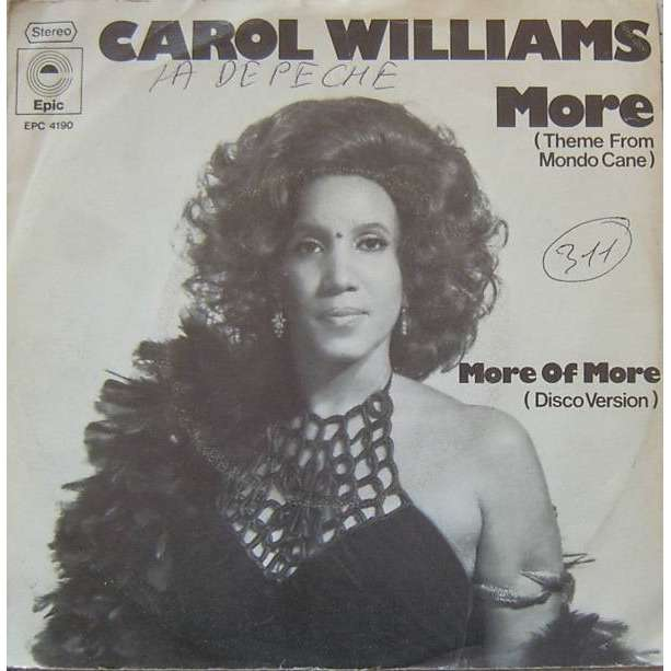 Carol Williams More Theme Frome Mondo Cane More Of