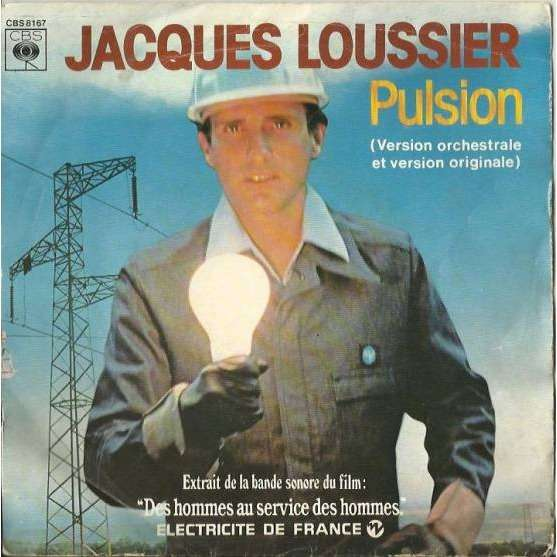 Jacques Loussier Pulsion (version orchestrale) / Pulsion (piano-batterie)