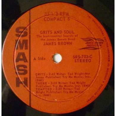 James Brown - Grits And Soul Album