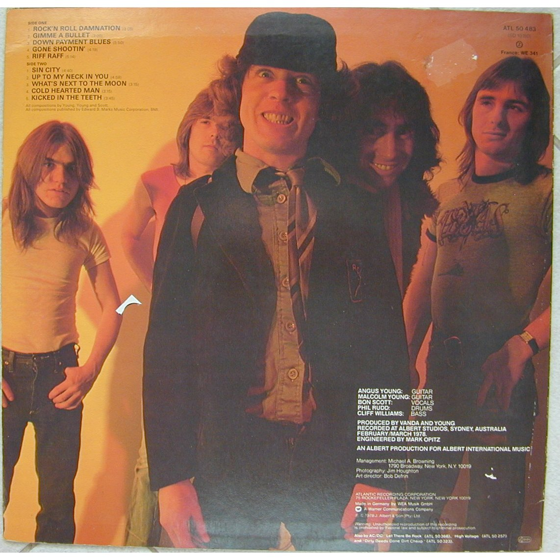 Powerage By Ac Dc Lp With Speed06 Ref 114835769