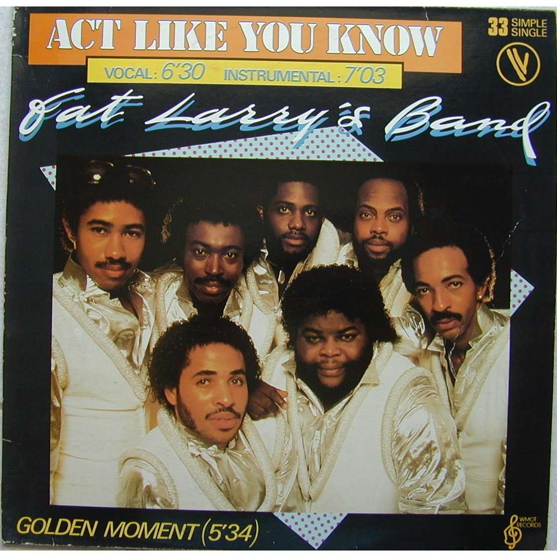 act like you know by FAT LARRYS BAND, 12inch with speed06