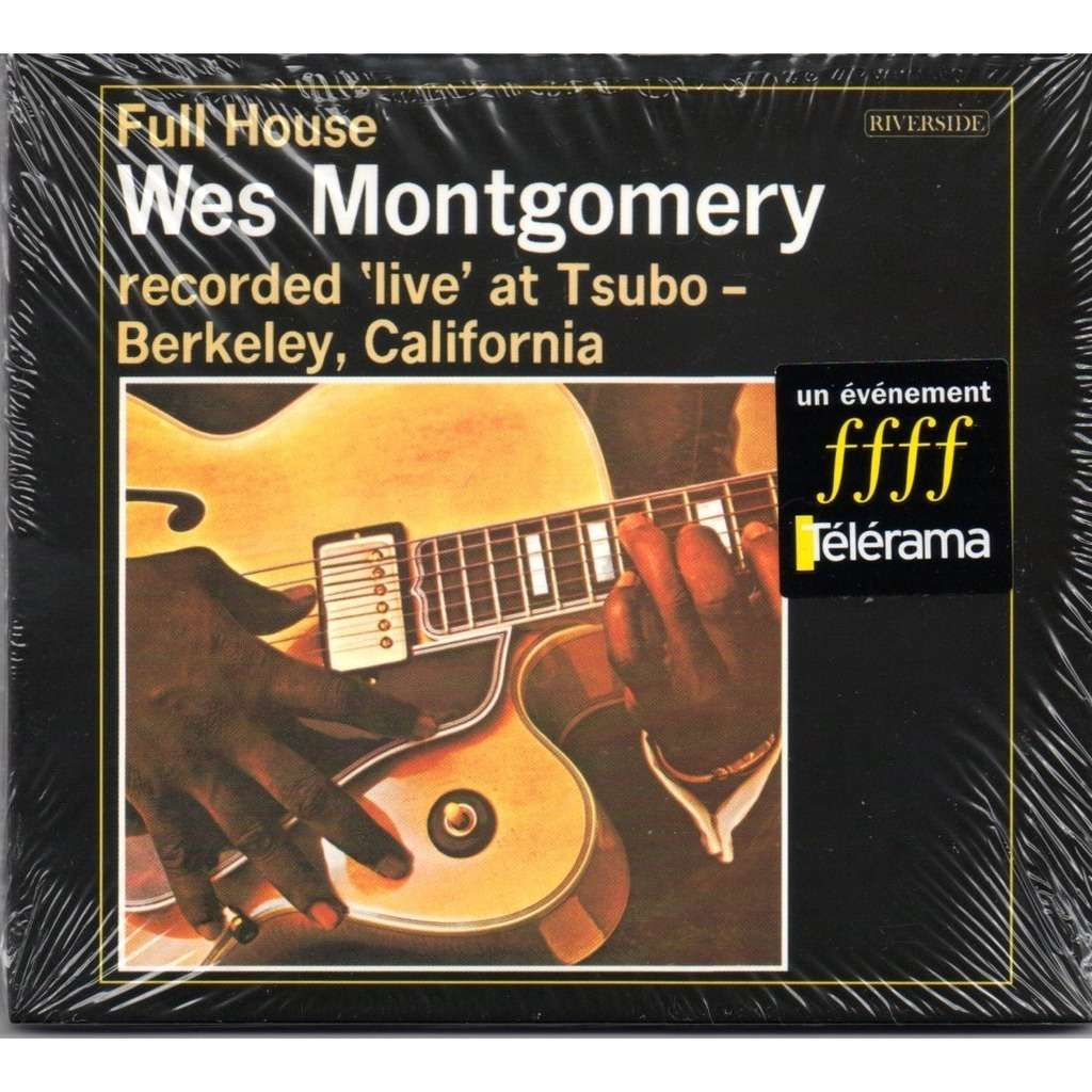 Full House By Wes Montgomery Cd With Swingsong Ref