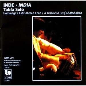 INDE / INDIA Tabla solo