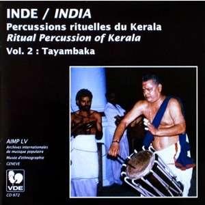 INDE • INDIA Percussions rituelles du Kerala