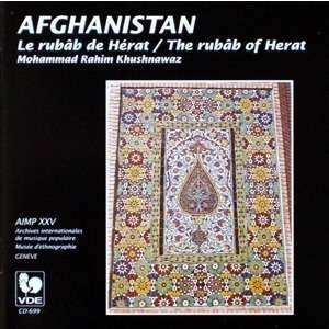 AFGHANISTAN Le rubâb de Hérat / The Rubâb of Herat