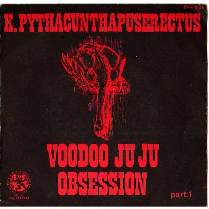 k.pythacunthapuserectus voodoo ju ju obsession part 1 et 2
