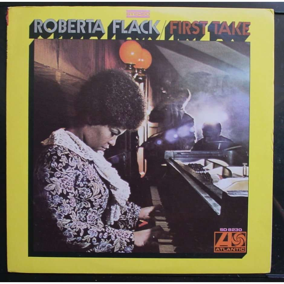 The Very Best Of Roberta Flack Roberta Flack: First Take By Roberta Flack, LP With Themroc