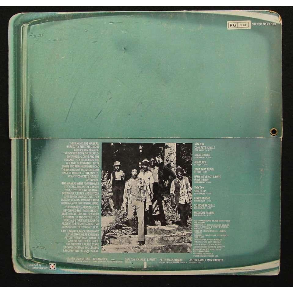 Bob Marley / The Wailers Catch a Fire ( zippo cover )