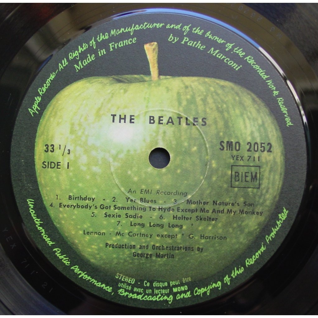 The Beatles White album (original french first press complete)