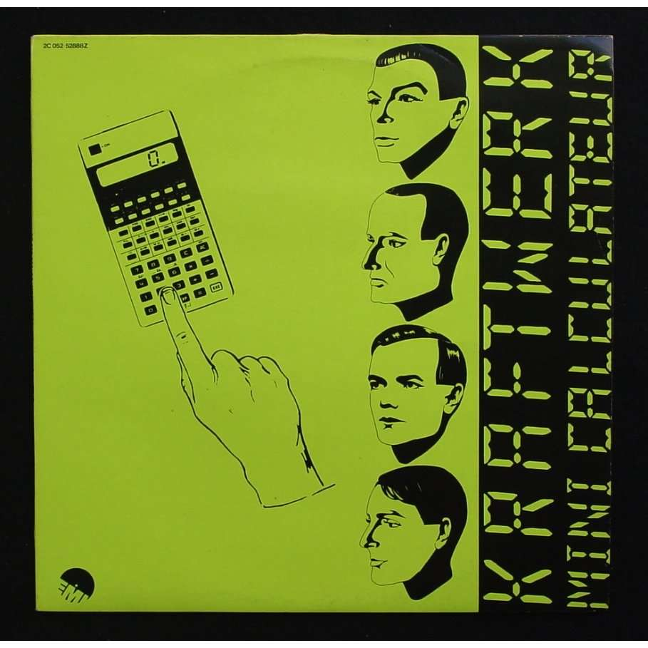 mini calculateur pocket calculator by kraftwerk 12inch with themroc ref 114881784. Black Bedroom Furniture Sets. Home Design Ideas