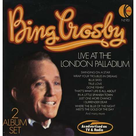 Bing Crosby Rosemary Clooney Bing Crosby Live At The London Palladium