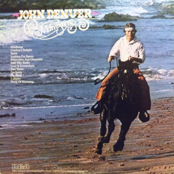 John Denver Windsong By John Denver Lp With