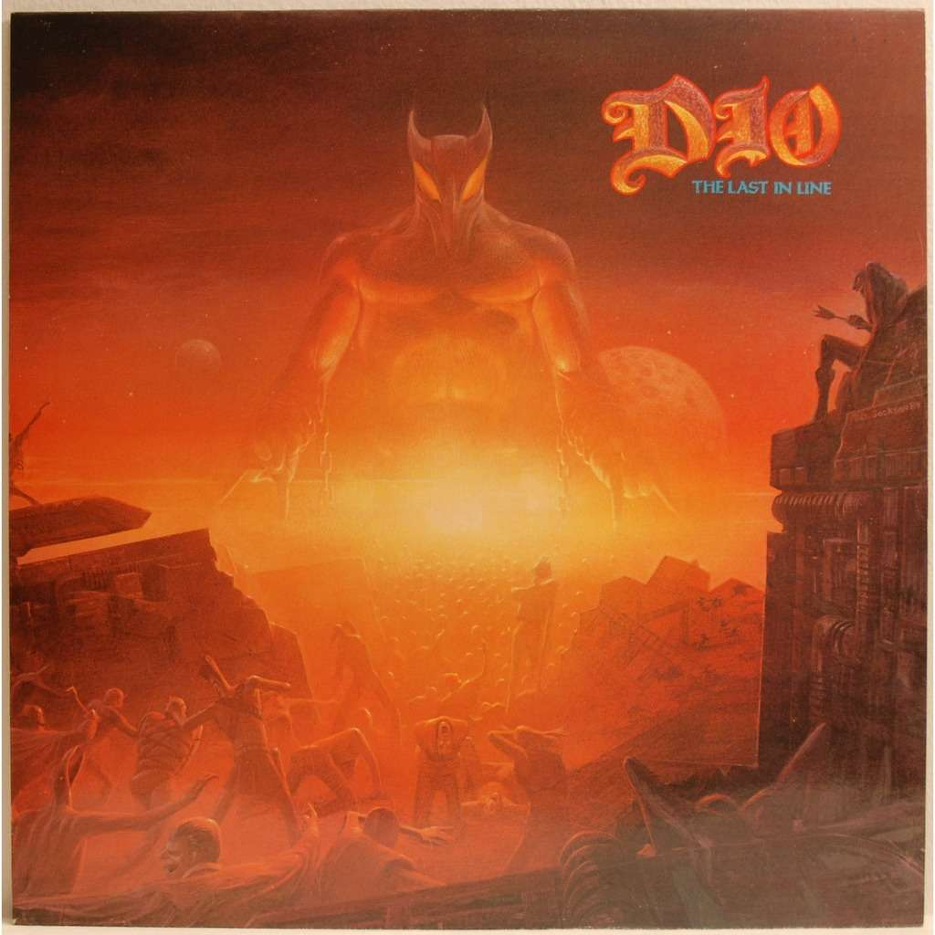 The Last In Line By Dio Lp With Tikeurdamour Ref 2933621270