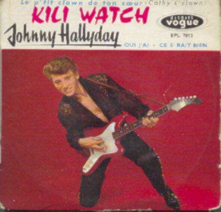 Album kili watch de johnny hallyday sur cdandlp for Vinyl le plus cher