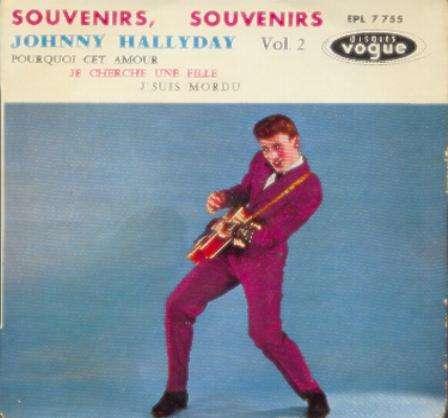 souvenirs souvenirs - johnny hallyday