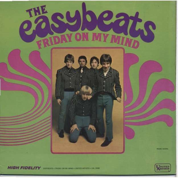 Easybeats 39 Friday On My Mind 39 Lp For Sale On