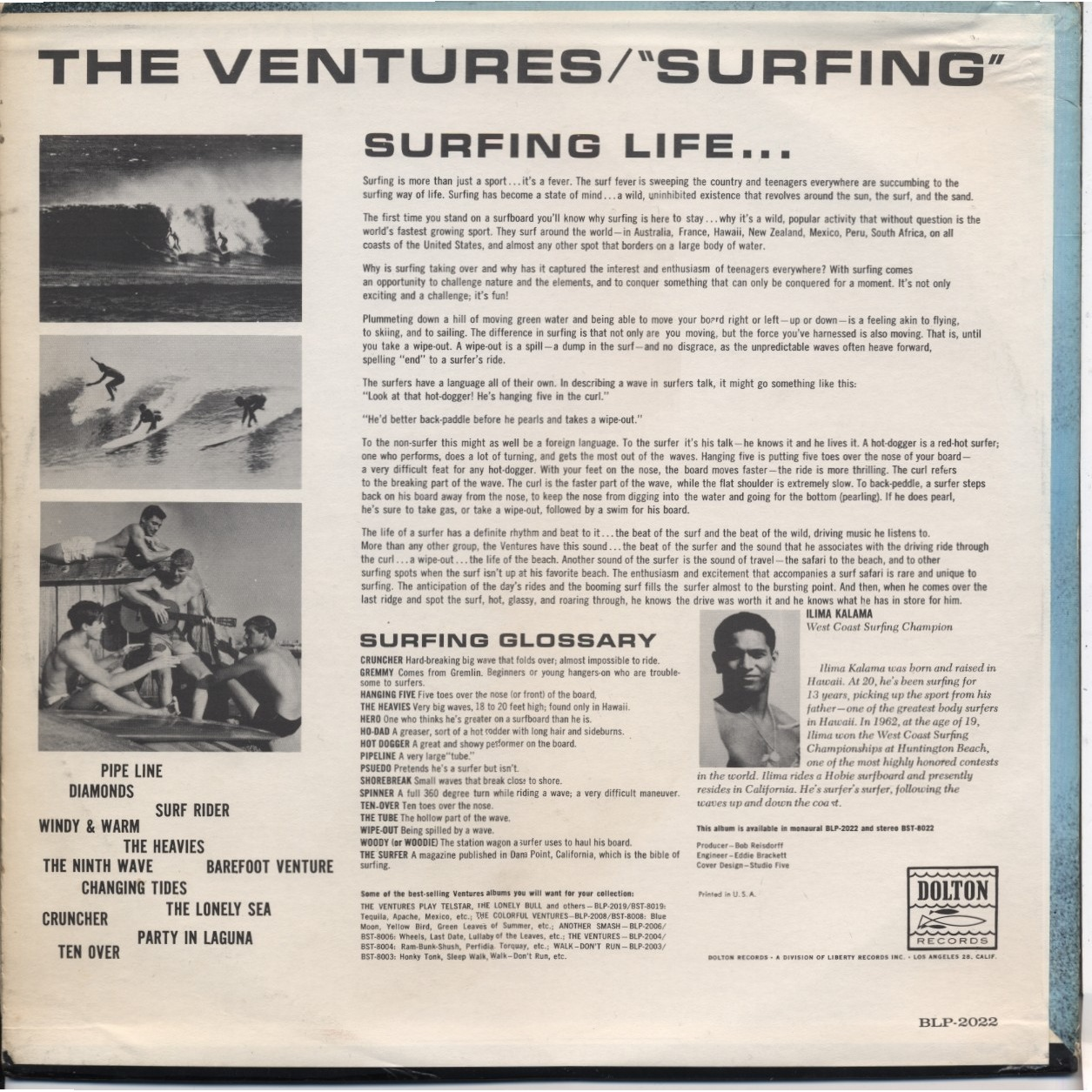Surfing By The Ventures Lp With Ubik76 Ref 1048866152