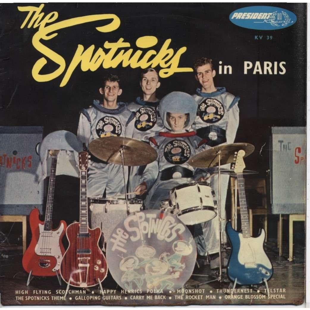 The Spotnicks In Paris De The Spotnicks 25 Cm Chez Ubik76