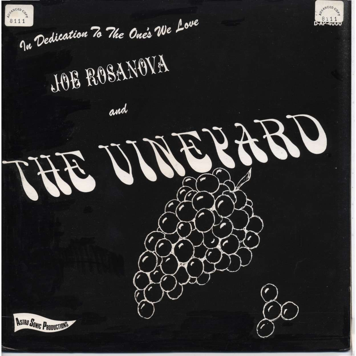 Joe Rosanova The Vineyard In Dedication To The Ones We Love
