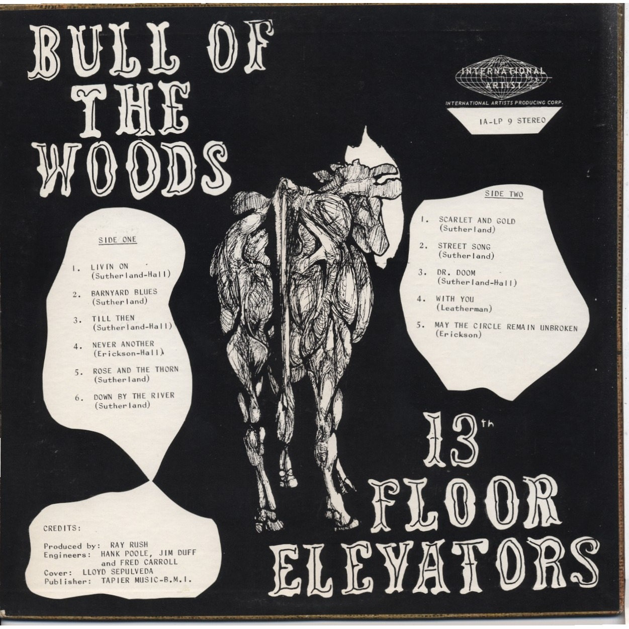 13th floor elevators bull of the woods lp for sale on for 13th floor elevators electric jug