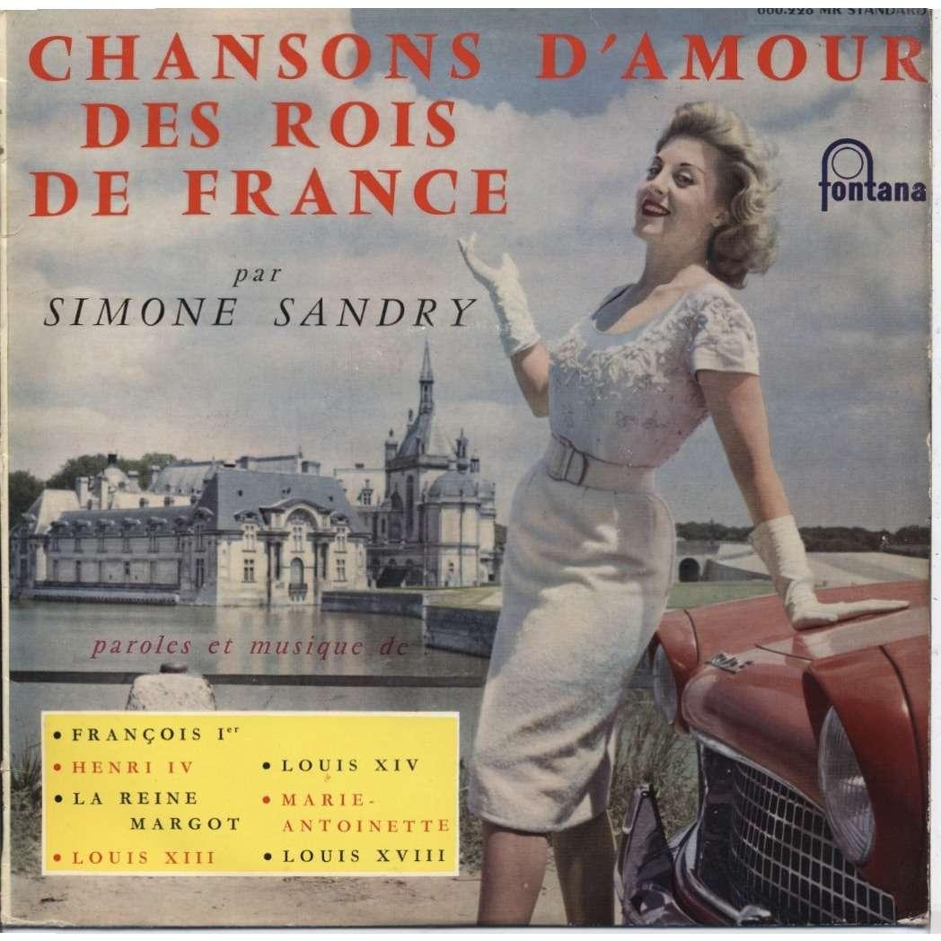 chansons d 39 amour des rois de france de simone sandry guy breton 25 cm chez ubik76 ref 1051965051. Black Bedroom Furniture Sets. Home Design Ideas