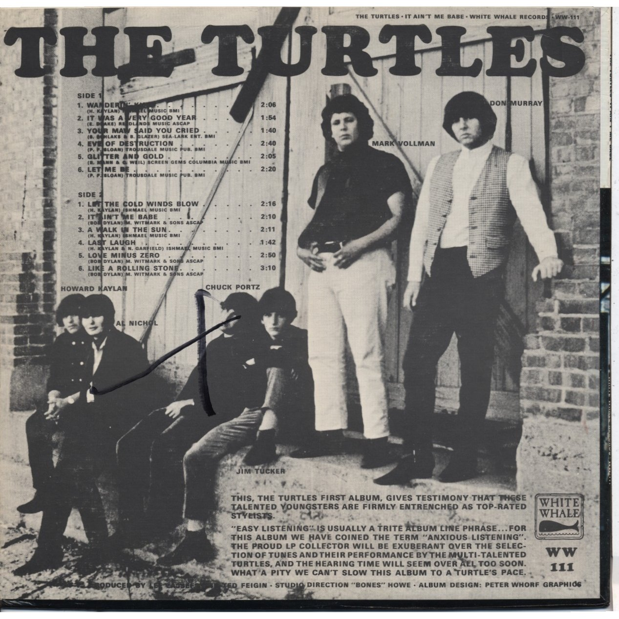 It Ain T Me Babe By The Turtles Lp With Ubik76 Ref