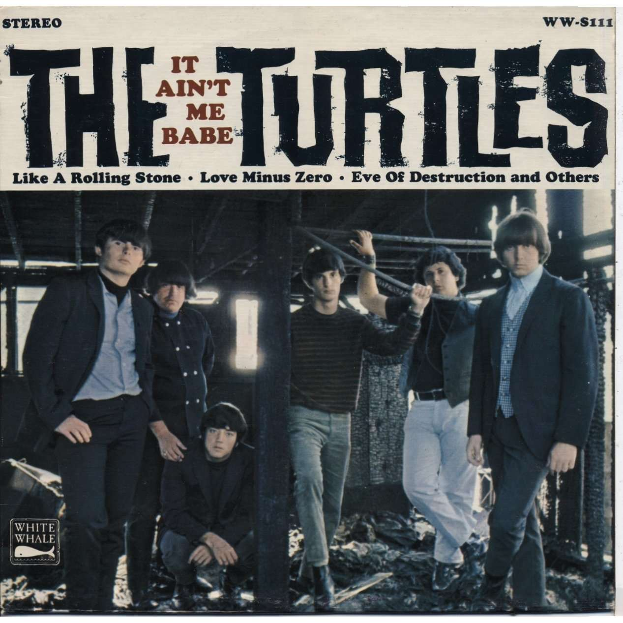 The Turtles It Aint Me Babe White Whale 1965 Flo