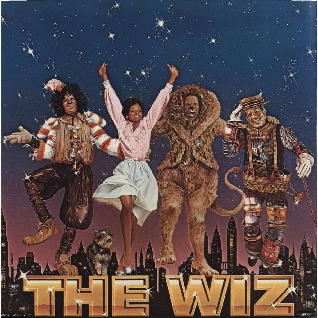 The Wiz Bof Sountrack Film By Michael Jackson