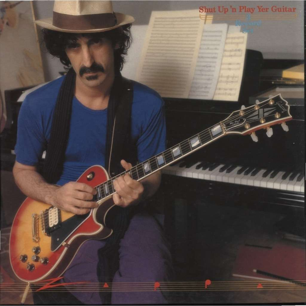 Frank Zappa Return Of The Son Of Shut Up N Play Yer Guitar