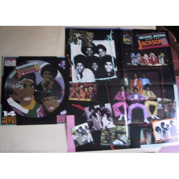 JACKSON 5 14 GREATEST HITS - PICTURE DISC