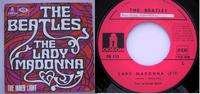 BEATLES THE LADY MADONNA - THE INNER LIGHT