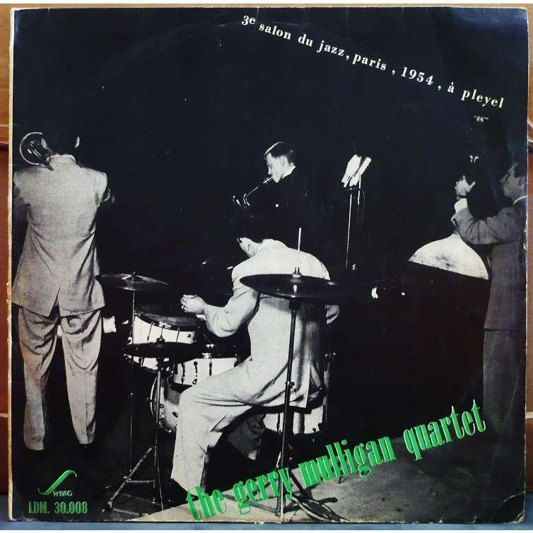 GERRY MULLIGAN QUARTET 3ème salon du jazz, paris, 1954, à