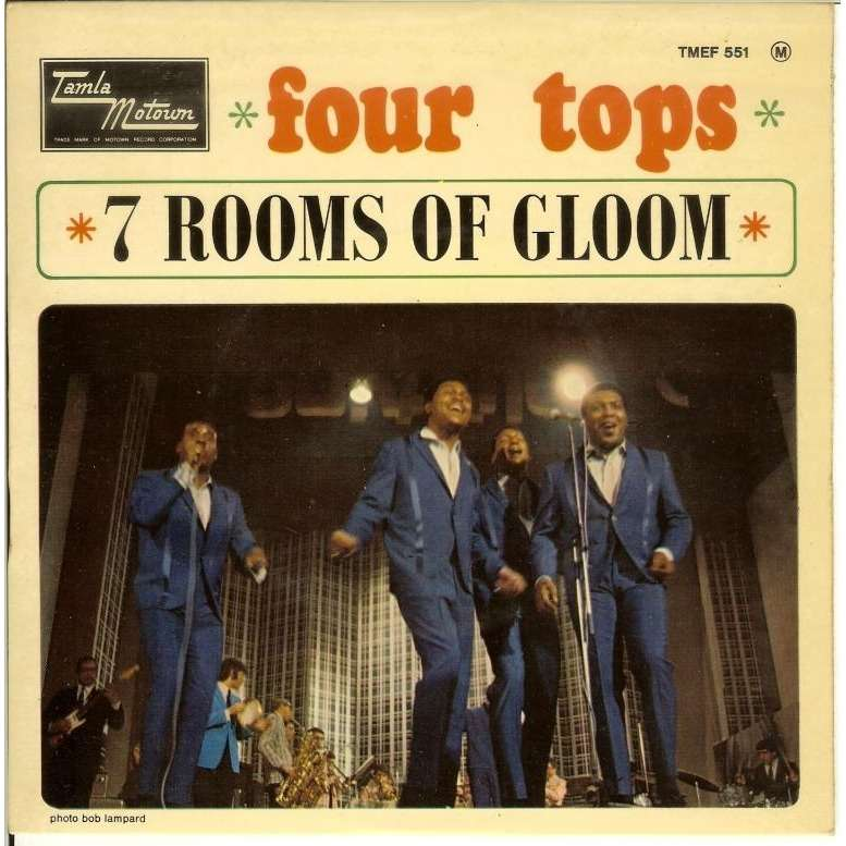 Seven Rooms Of Gloom 3 By Four Tops Ep With Vinylrecords